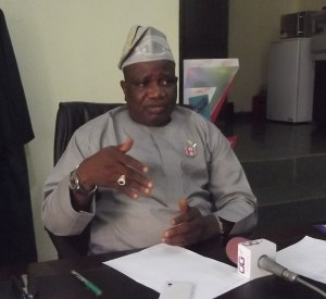 Commissioner for Forestry, Chief Kolawole Lawal