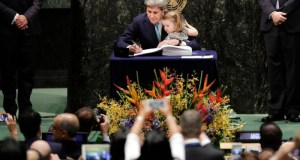 John Kerry  List of 175 signatories to Paris Agreement Kerry e1461783857604