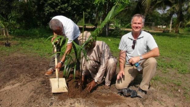 Tree planting at the LUFASI Nature Park