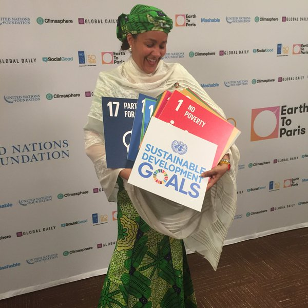 Environment Minister, Amina Mohammed, holds on to several SDG options