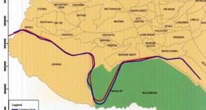 map-sgr-kenya-e1460987541679  Railway route through Nairobi National Park abandoned map sgr kenya e1460987541679