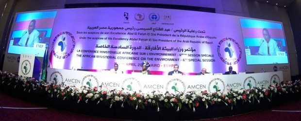 Opening session of the AMCEN6 in Cairo, Egypt  AMCEN: Africa's natural reserves, climate pact top agenda opening   1 0