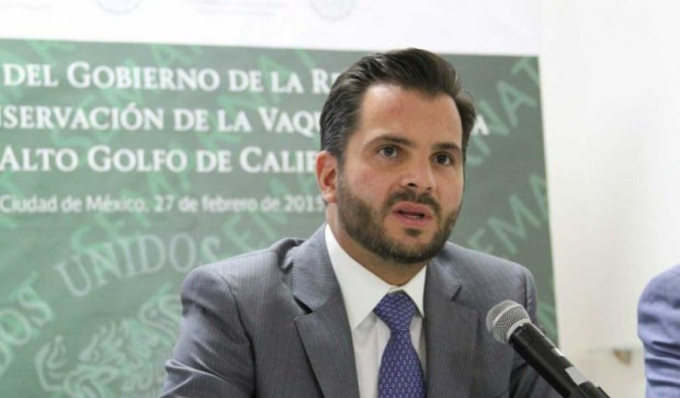 Rafael Pacchiano Alamán, Minister of Environment and Natural Resources of Mexico
