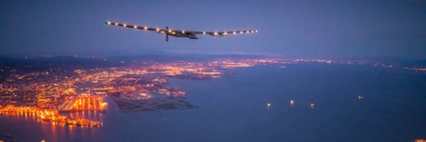 Solar Impulse prepares to land in San Francisco after a three-day Pacific Ocean crossing  Fossil fuel-free plane completes round-the-world trip solarimpulsesf