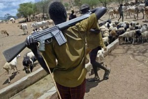 Armed Fulani herdsmen: A probable climate-linked impact is the prevalent invasion of these herdsmen in the South.  Climate: The change is here Armed Fulani herdsmen 300x202