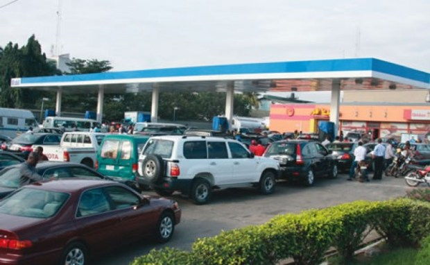 HOMEF has described the act of basing the price of petroleum products on importation costs as questionable planning   Petrol price hike akin to spiking suffering, says HOMEF Fuel queue by motorists4 650x400