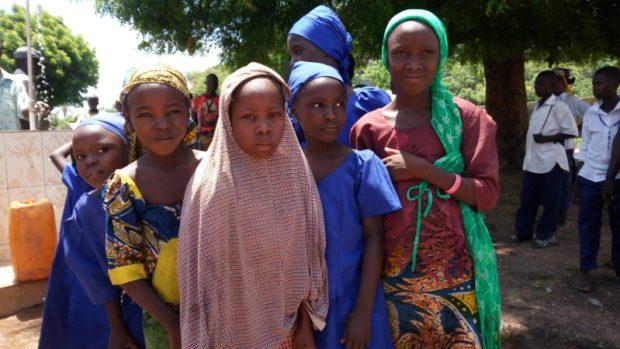 Young faces at Gaya Silkami  Images: Solar brightens insurgency-hit villages in Adamawa Gaya4 e1466873598464