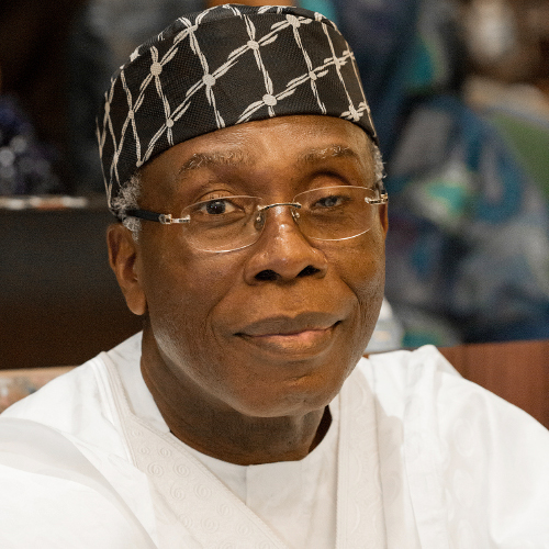 Minister of Agriculture, Chief Audu Ogbeh