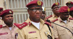 Boboye Oyeyemi  FRSC decries assault on marshal, warns potential offenders Boboye e1467653804689