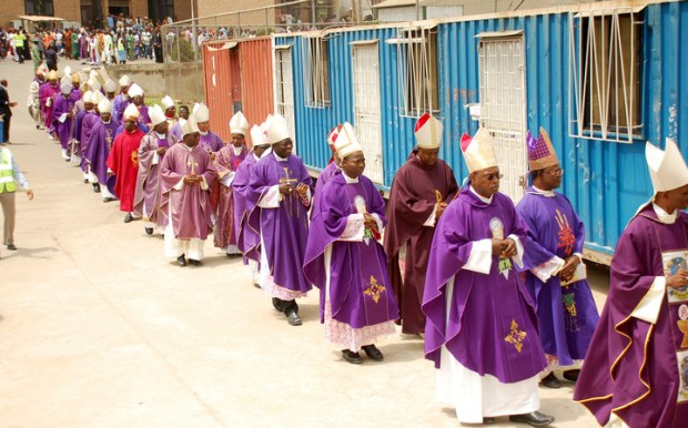 Catholic bishops. Photo credit: premiumtimesng.com  Government urged by Catholics to drop grazing bill Catholic Bishops of Nigeria