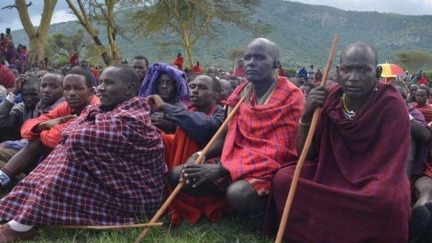 Maasai men. Photo credit: bbc.co.uk