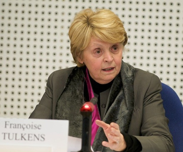 Ms. Francoise Tulkens, one of the judges
