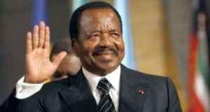 Cameroon's President, Paul Biya