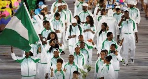 Team-Nigeria-Rio2016  Africa's Great Green Wall stars at Olympic opening ceremony Team Nigeria Rio2016