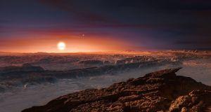 proxima-centauri-b-landscape  Scientists find planet similar, close to Earth proxima centauri b landscape