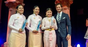 2016 Stockholm Junior Water Prize  Thai students win 2016 Stockholm Junior Water Prize with water retention device thai