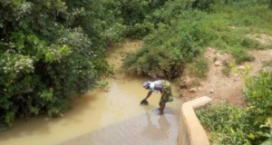 portable water  Kaduna residents lament dearth of potable water woman fetching water to drink from a pond covered with dirt
