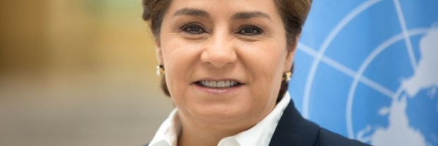 Patricia Espinosa, Executive Secretary of the UNFCCC  Espinosa hails new Paris parties, CMA starts Espinosa