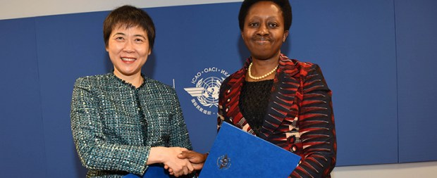 At the ICAO World Aviation Forum, ICAO's Secretary General Dr. Fang Liu and UN-Habitat's Dr. Aisa Kirabo Kacyira initialled a Memorandum of Understanding that will make important contributions to States' pursuit of the UN's Agenda 2030 for Sustainable Development. The initiative has picked five airports located in four different African cities under a pilot project  UN to enhance airports' contributions to sustainable development ICAO