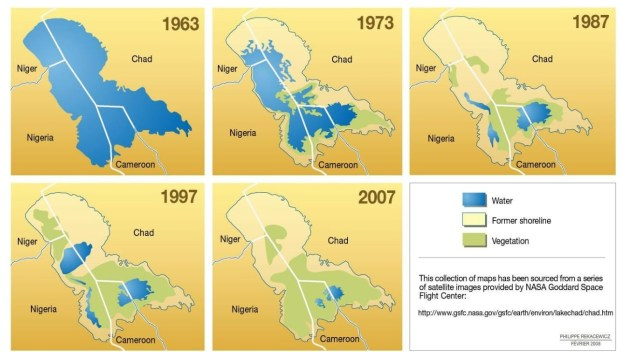 Lake Chad  Environmentalists want 'alarming' Sahara Desert encroachment halted Unep 1 1024x582