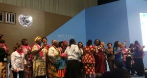 Women Assembly in Quito  Women promote inclusion in New Urban Agenda Women assembly 480x360