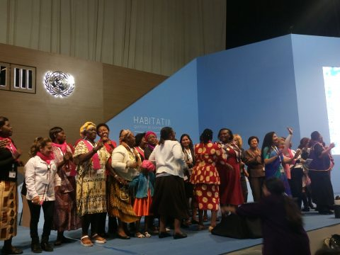 Participants at the Women Assembly in Quito  Women promote inclusion in New Urban Agenda Women assembly 480x360