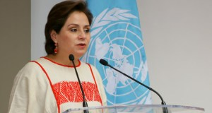 Patricia Espinosa  Climate, development agendas inherently linked espinosa