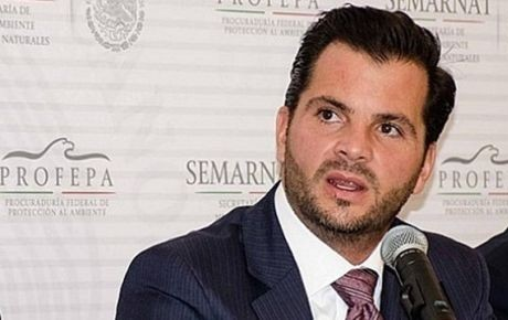 Secretary of Environment and Natural Resources for Mexico, Rafael Pacchiano Alamán,
