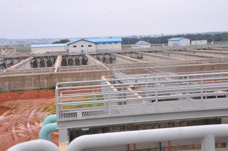 The Zaria water project in Kaduna State  N96bn Zaria water scheme nears completion zaria water work project in zaria