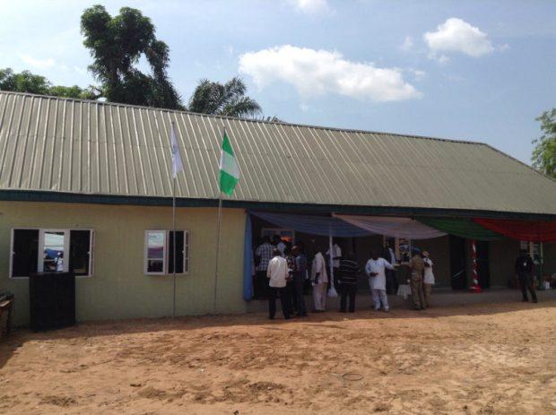Front view of the Environmental Sanitation Court at BENSESA premises in Makurdi, Benue State