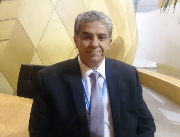 Dr. Khaled Fahmy, the Egyptian Minister of Environment and President of the African Ministerial Conference on the Environment (AMCEN)  Egypt offers to host CBD/COP14 in 2018 Dr