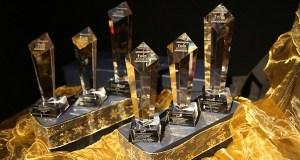 Global Sustainability Film Awards trophies