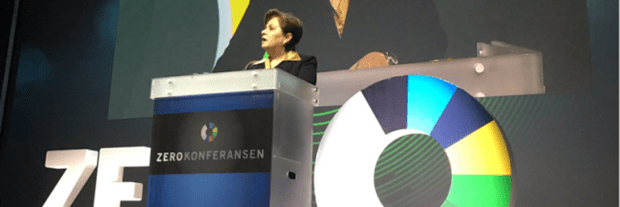 Patricia Espinosa summed up the central outcomes of COP22 in a speech at the 2016 Zero Emission Conference in Oslo, Norway