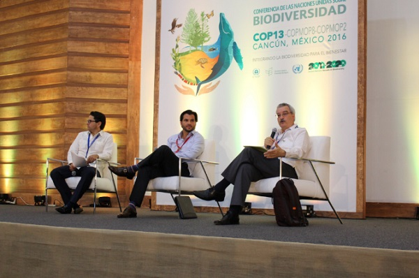 A side event at the UN Biodiversity Conference CBD/COP13 holding in Cancun, Mexico  Ministers commit to integrate biodiversity into key economic sectors COP 13