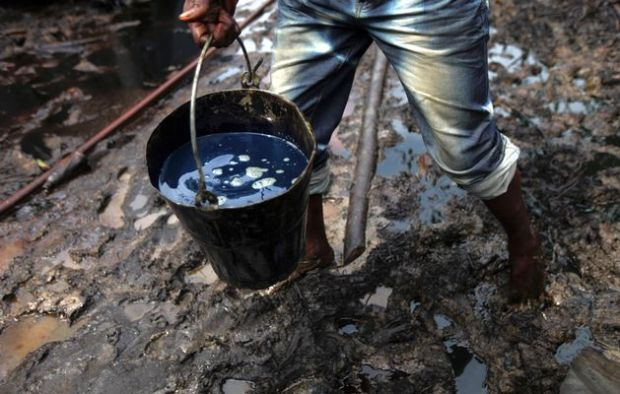 Shell campaigns against crude oil theft in Ogoniland Crude oil theft