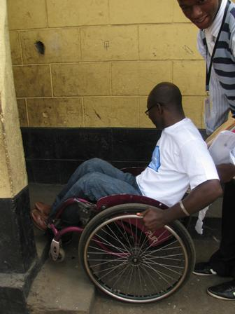 The conventional toilet is unfriendly to persons living with disabilities