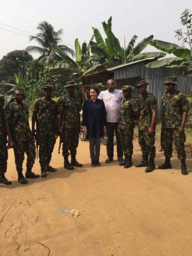 New Year  Images: Ministers' New Year day tour of impacted Ogoniland pollution sites IMG 20170101 WA0026