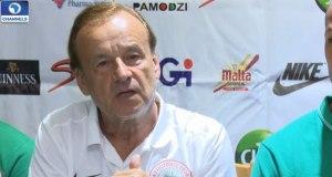 Gernot Rohr-Nigeria  Friendlies: Super Eagles land in Corsica Gernot Rohr Nigeria Super Eagles coach
