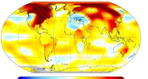 Global warming  Global heat continues, sea ice hits new record lows Heat e1487510562775
