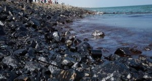 India-oil-spill  Oil spill: India impounds ship, detains crew Indiaoilspill
