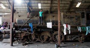 locomotive train  Old Ebute-Metta Railway Compound gets a makeover Legacy2 e1487807036533