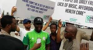 lagos protest  Radio Report: Protesters kick against economic hardship lagos protest