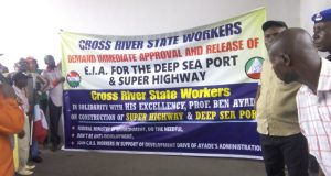 NLC-TUC  Images: Workers demand release of Superhighway's EIA NLC2 e1489684235325