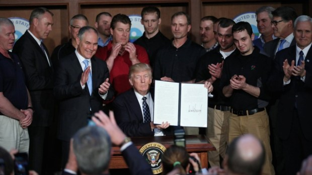 Donald Trump  Trump proposes change to environmental rules to speed up highway projects, pipelines Trump 1024x576