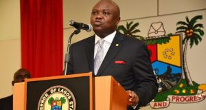 Akinwunmi-Ambode  Lagos unveils plans to fix roads, tackle flooding Akinwunmi Ambode e1492526926601