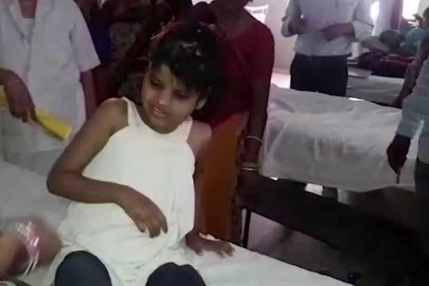 girl-india-monkey  Doubts over story of girl living with monkeys girl india monkey