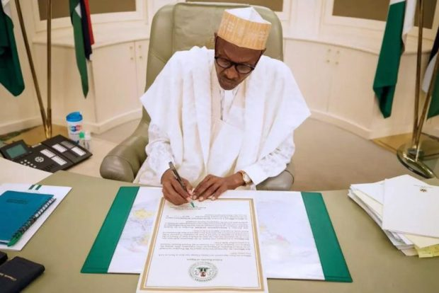 Buhari-Paris-Agreement  Nigeria ratifies Paris Agreement, becomes 146th Party to treaty Buhari Paris Agreement e1495030855454