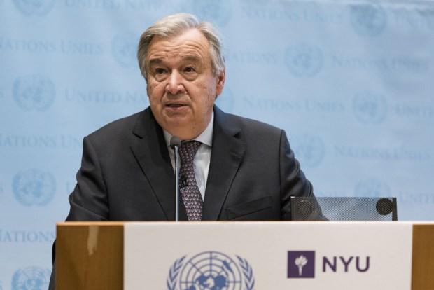 António Guterres  Sahel crisis reaching unprecedented levels, UN warns Gutteres 1024x683