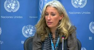 Pernille Ironside  UNICEF welcomes release of abducted Chibok girls Pernille Ironside e1494191704390