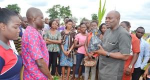 Funai tree planting  Federal varsity embarks on tree planting campaign to promote eco-friendliness Funai 1